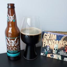 Grim Fandango Remastered with Stone Brewery's Xocoveza