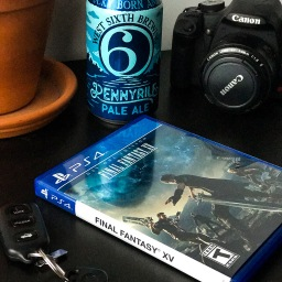Final Fantasy XV with West Sixth Brewing's Pennyrile Pale Ale