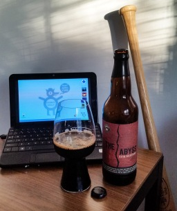 Night in the Woods with Deschutes Brewery's The Abyss (2016 Reserve)
